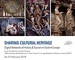 CONFERENCE: Sharing Cultural Heritage. Digital Networks of History & Sources in Eastern Europe (26-27.02.2018)